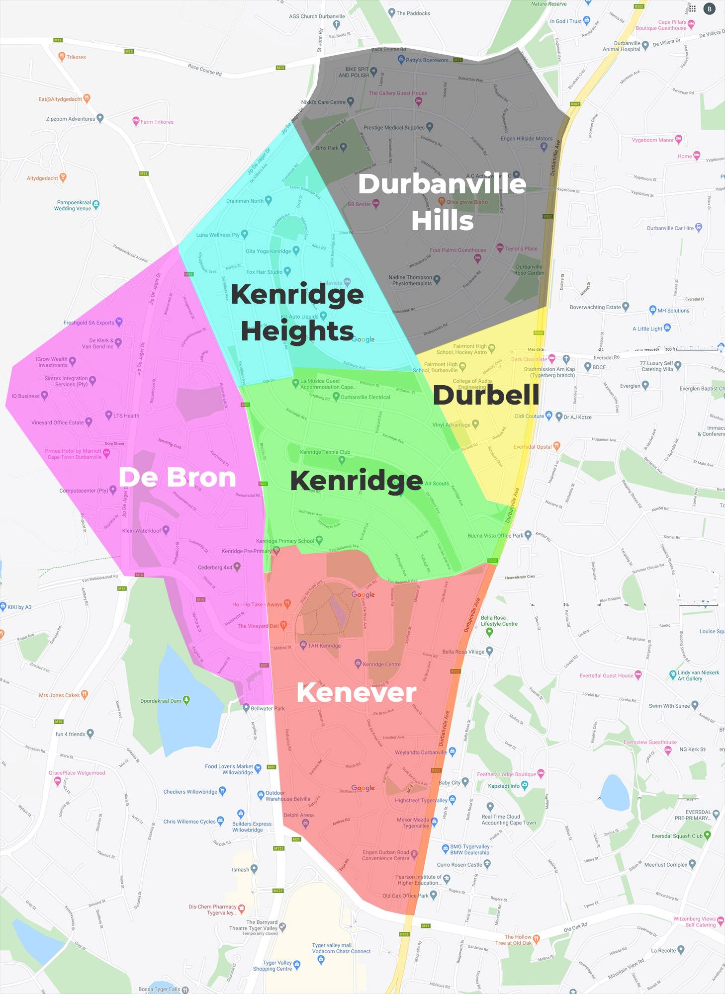 KNI Area Map